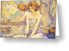 Reflections 1911 Greeting Card