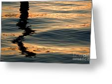Reflections Abstract Greeting Card