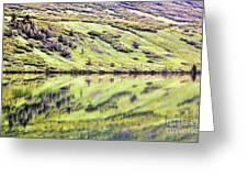 Reflections Alaska  Greeting Card