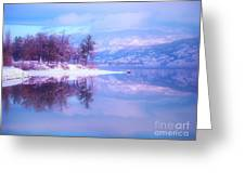 Reflections Along Highway 97 Greeting Card