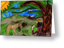 Reflections And Prayer Of St. Francis Greeting Card