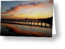 Reflections At Sunrise  Greeting Card