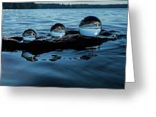 Reflections In Crystal Greeting Card