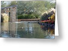 Reflections In Phoenix Greeting Card