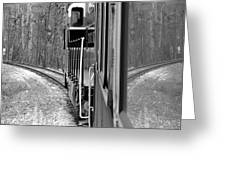 Reflections In Riding Greeting Card