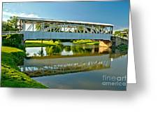 Reflections In Yellow Creek Greeting Card