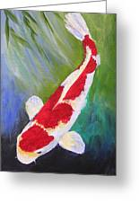 Reflections Koi Greeting Card