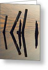 Reflections Loch Etive Greeting Card