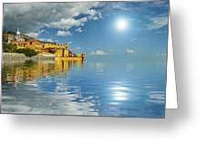 Reflections -madeira Greeting Card