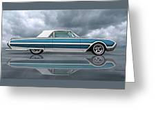 Reflections Of A 1961 Thunderbird Greeting Card