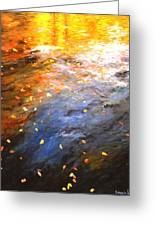Reflections Of Autumn II Greeting Card