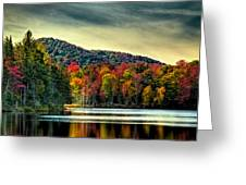 Reflections Of Autumn On West Lake Greeting Card