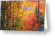 Reflections Of Autumn X Greeting Card