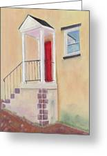 Red Door - Baltimore Greeting Card