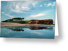 Reflections Of Budleigh Greeting Card