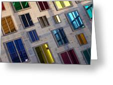 Reflections Of Color Greeting Card