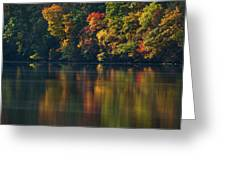 Reflections Of Colors Greeting Card