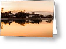 Reflections Of Emsworth Greeting Card by Trevor Wintle