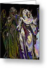 Reflections Of Faith Greeting Card
