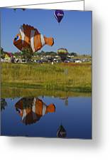 Reflections Of Flounder Greeting Card