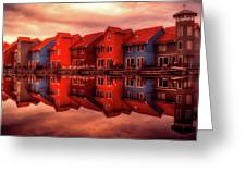 Reflections Of Groningen Greeting Card