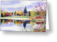 Reflections Of Home Greeting Card