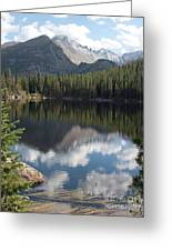 Reflections Of Majestic Mountains Greeting Card