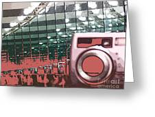 Reflections Of Photography Greeting Card