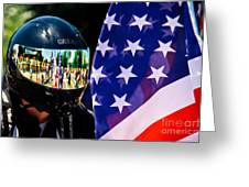Reflections Of Rolling Thunder Greeting Card