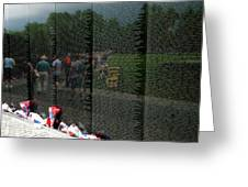 Reflections Of Sacrifice Greeting Card