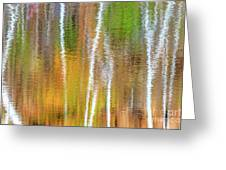 Reflections Of The Canadian Fall Greeting Card