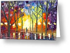 Reflections Of The Soul Greeting Card