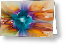 Reflections Of The Universe No. 2305   Greeting Card