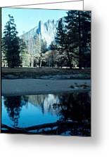 Reflections Of Yosemite Greeting Card