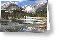 Reflections On Chinns Lake 5 Greeting Card