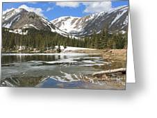 Reflections On Chinns Lake 6 Greeting Card