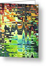 Reflections On Color Greeting Card
