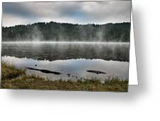 Reflections On Reflection Lake 2 Greeting Card