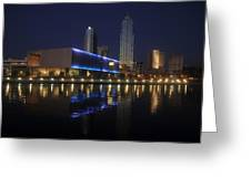 Reflections On Tampa Greeting Card