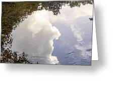 Reflections On The Water Greeting Card