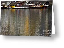Reflections On Water Greeting Card