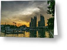 Reflections Singapore Greeting Card