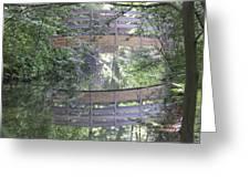 Reflections The Bridge Greeting Card