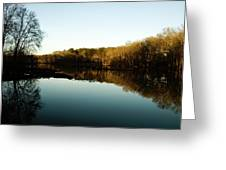 Reflections Greeting Card by Valeria Donaldson