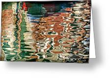 Reflections Venice_dsc4687_03032017 Greeting Card