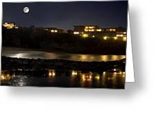 Reflective Nights Greeting Card