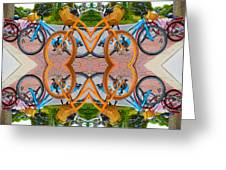 Reflective Rides Greeting Card