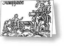 Reformation: Indulgences Greeting Card