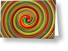 Refresh Your Mind With Tropical And Juicy Colors In Your Dinning Area Greeting Card