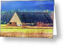 Refuge Barn Greeting Card